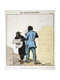 Le Monde Et Le Rappel, 1871 Giclee Print by  Moloch