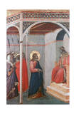 Christ before Pilate, C1306-1348 Giclee Print by Pietro Lorenzetti