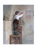 In the Classroom, 1883 Giclee Print by Pierre Edouard Frere