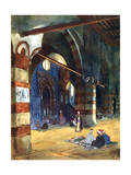 Ibrahim Agha Mosque, Cairo, Egypt, 1928 Giclee Print by Louis Cabanes
