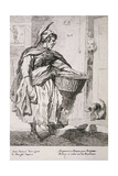 Mackerel Seller, Cries of London, 1760 Giclee Print by Paul Sandby