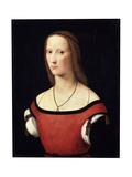 Female Portrait, C1500-C1506 Giclee Print by Lorenzo Costa
