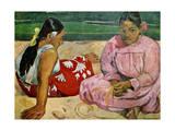 Tahitian Women on the Beach, 1891 Giclee Print by Paul Gauguin