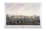 Smithfield Market, West Smithfield, City of London, C1825 Giclee Print by Nathaniel Whittock
