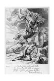 Perseus Cuts Off Medusa's Head, 1655 Giclee Print by Michel de Marolles