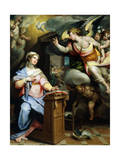 The Annunciation, 1560S Giclee Print by Orazio Samacchini