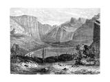 Yosemite Valley, California, 19th Century Giclee Print by Paul Huet