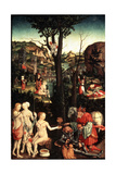 Allegory of Love (Amor Omnia Vincit), 16th Century Giclee Print by Matthias Gerung