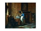 Interior Scene, C1650 Giclee Print by Pieter de Hooch