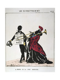 A Propos De La Crise Monetaire, 1871 Giclee Print by  Moloch