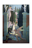 The Story of Psyche (Panel Four. the Vengeance of Venu), 1908 Giclee Print by Maurice Denis