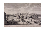 Guilford Street, St Pancras, London, 1753 Giclee Print by Nathaniel Parr