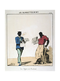 Le Figaro Et Le Radical, 1871 Giclee Print by  Moloch