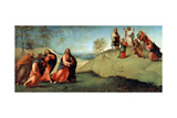 Christ Leading the Apostles to Mount Tabor, 1512 Giclee Print by Lorenzo Lotto