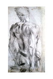 Study of a Figure, C1560-1609 Giclee Print by Lodovico Carracci