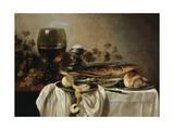 Breakfast, 1646 Impression giclée par Pieter Claesz