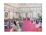 The Foyer at the Savoy Restaurant, London, 1905 Giclee Print by Max Cowper