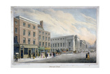 Aldersgate Street, City of London, C1830 Giclee Print by Nathaniel Whittock