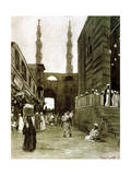 Bab El Fetouh, Cairo, Egypt, 1928 Giclee Print by Louis Cabanes