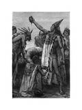 Human Sacrifice, Mexico, Pre-Colombian Period Giclee Print by Pierre Fritel