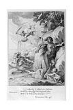 Perseus Delivers Andromeda from the Sea Monster, 1655 Giclee Print by Michel de Marolles