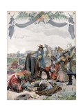 Death of Henri, Vicomte De Turenne, French Soldier, 1675 (C1871-194) Giclee Print by Maurice Leloir