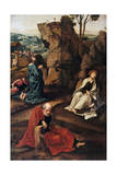 The Agony in the Garden, 1527-1530 Giclee Print by Pieter Coecke van Aelst