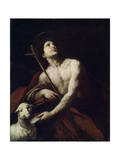 Saint John the Baptist, 17th Century Giclee Print by Orazio Ferraro