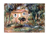 Landscape, Le Cannet, 1902 Giclee Print by Pierre-Auguste Renoir