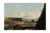 View of the Colosseum, Rome, Late 18Th/Early 19th Century Giclee Print by Pierre Henri de Valenciennes
