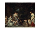 First Steps, C1786-C1788 Giclee Print by Marguerite Gerard