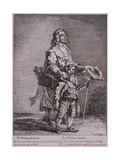 The Walking Stationer, Cries of London, 1760 Giclee Print by Paul Sandby