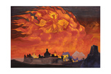 Sophia - the Wisdom of the Almighty (Santa Protectri), 1932 Giclee Print by Nicholas Roerich