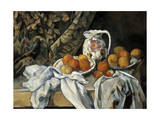 Still Life with Drapery, C1895 Giclee Print by Paul Cézanne