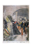 Emperor of Russia at the Tomb of Cornot, 1896 Giclee Print by Oswaldo Tofani