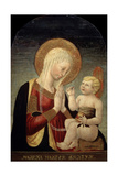 Madonna and Child with Pomegranate, 15th Century Giclee Print by Neri Di Bicci