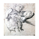 Study of a Figure, C1575-1619 Giclee Print by Lodovico Carracci