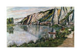 The Rock at Bayard, Late 19th or 20th Century Giclee Print by Pierre Thevenet