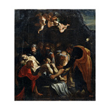 The Descent from the Cross, 16th Century Giclee Print by Marcello Venusti