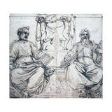 St Pierre and St Paul, 16th Century Giclee Print by Perino Del Vaga