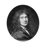 Moliere, French Theatre Writer, Director and Actor, 17th Century Giclee Print by Pierre Mignard