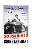 Subscribe for War Bonds, 1939 Giclee Print by Pierre Lagarrigue