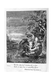 Tithonus, Eos's Lover, Turned into a Grasshopper, 1655 Giclee Print by Michel de Marolles