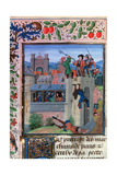 The Murder of Etienne Marcel, 1358, (Mid-15th Centur) Giclee Print by Loyset Liedet