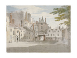 Scotland Yard with Part of the Banqueting House, Whitehall, Westminster, London, C1776 Giclee Print by Paul Sandby