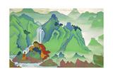 Padma Sambhava, 1924 Giclee Print by Nicholas Roerich
