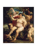 Bacchus, 1638-1640 Giclee Print by Peter Paul Rubens