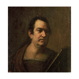 Portrait of a Man, C.17th Century Giclee Print by Luca Giordano