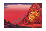 Command of Rigden Djapo, 1933 Giclee Print by Nicholas Roerich