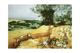 The Harvesters, 1565 Giclee Print by Pieter Bruegel the Elder